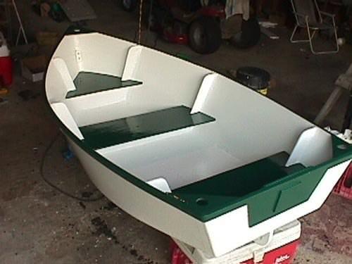 лодка для машины своими руками