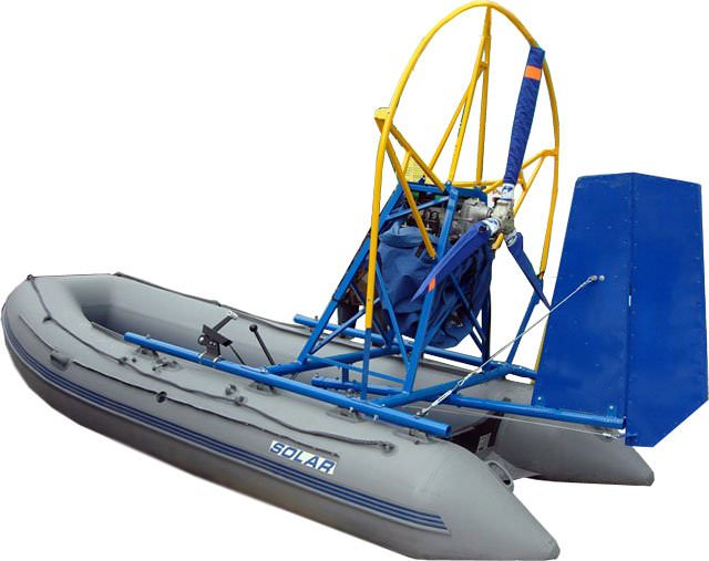 Аэродвигатель для лодки своими руками
