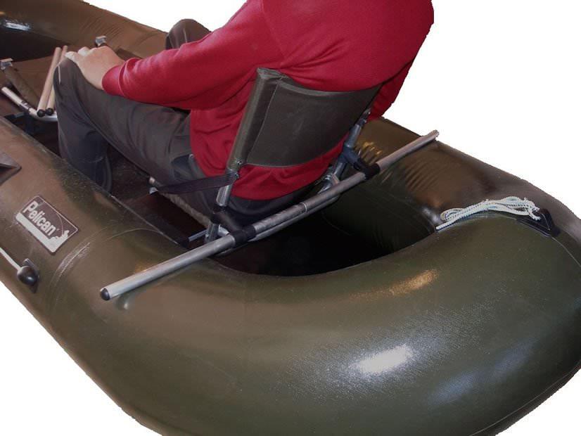 Как сделать сидение на резиновую лодку