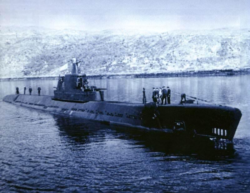 назовите подводные лодки советского в