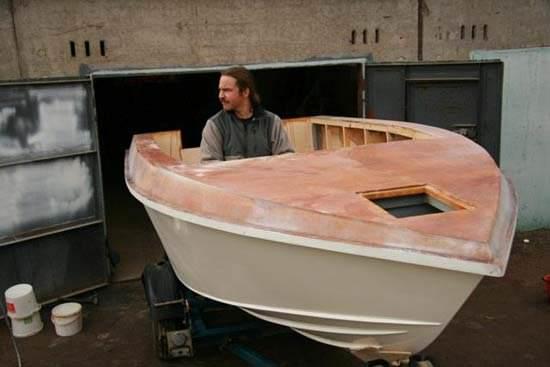 самодельная лодка из оки