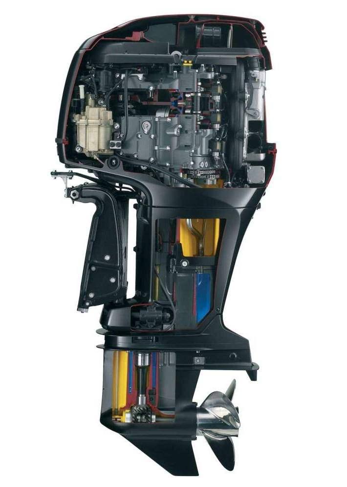 техническое обслуживание лодочных моторов hdx